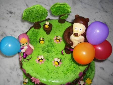 пошаговый рецепт торта с мастикой с фото медведь