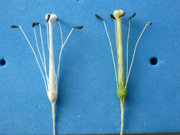 Как сделать лилии из мастики