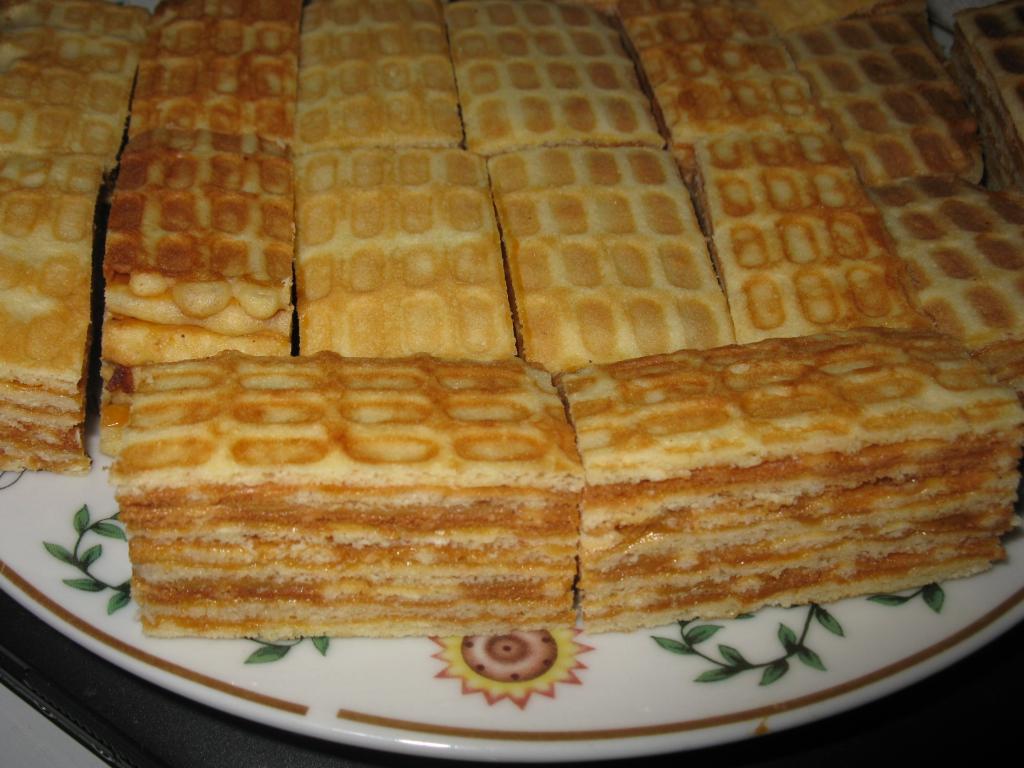 Вафельный торт рецепты с фото