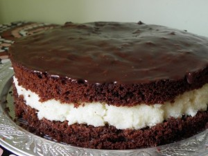 Рецепт торта Баунти