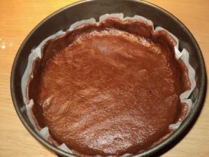 Лимонный торт с шоколадом