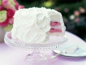 Белковый заварной крем для торта