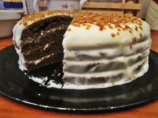торт черёмуховый видео рецепт