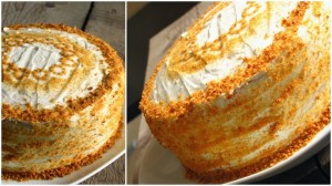 Торт на сгущенке Молочная девочка