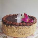 Торт песочный с маскарпоне