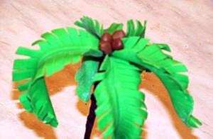 пальма из мастики-шаг 6