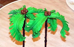 пальма из мастики-шаг 7