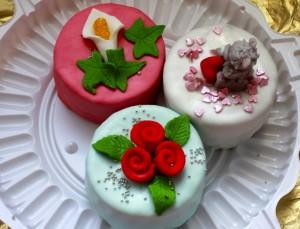 Мини-тортики шоколадные без выпекания