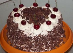 Немецкий торт «Черный лес»-шаг 1