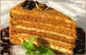 Медовый крем для торта-шаг 1