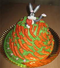 Украшения из мастики - морковка