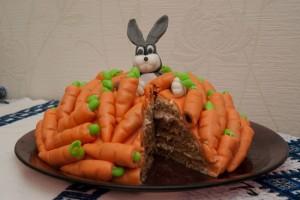 Украшения из мастики - морковка -шаг 6