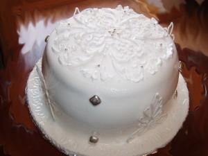 Шоколадный торт Зимняя сказка