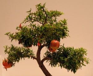 Дерево из мастики
