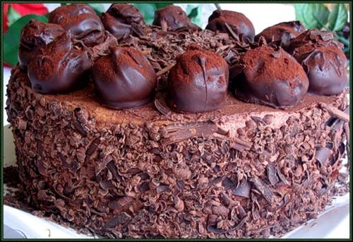 королевский шоколадный торт рецепт