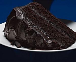 Шоколадный торт с коньяком-шаг 1