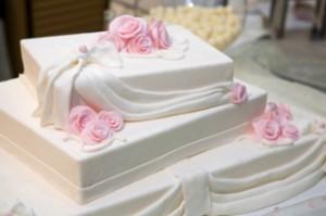 Свадебный торт «Белый трюфель»-шаг 1