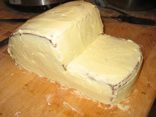 как приготовить масляной крем для торта с мастикой