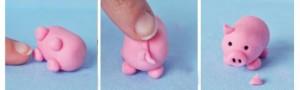 свинья -шаг 2