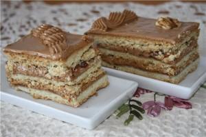 Песочный торт -шаг 1