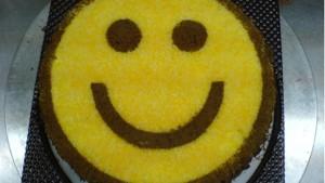 Торт Смайлик -шаг 1