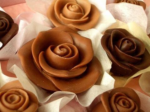 Розы из шоколада своими руками мастер класс