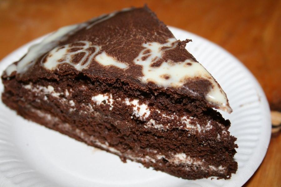 Торт шоколадно сметанный рецепт
