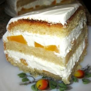 Крем для бисквитного торта с ананасами-шаг 1