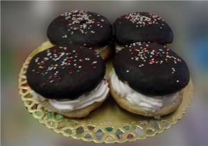 Бисквитные пирожные Буше-шаг 1