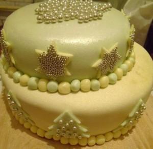 Правильное покрытие торта мастикой – вопросы и ответы-шаг 1