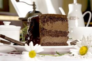Новогодний шоколадный торт со звездочками-шаг 1