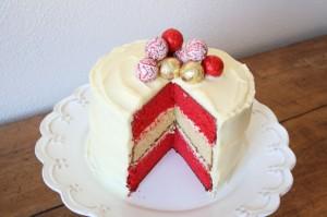 Новогодний торт «Яркие краски»-шаг 2