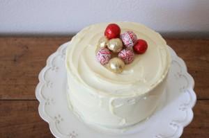 Новогодний торт «Яркие краски»-шаг 1