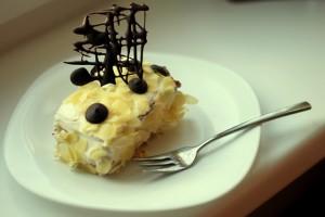 Творожный торт из печенья – без выпечки-шаг 1