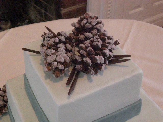 Как сделать украшения из шоколада для торта
