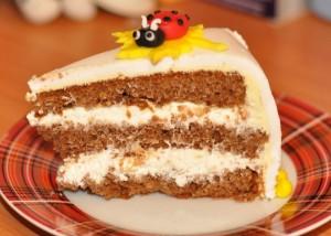 Сливочный крем для бисквитного торта-шаг 1