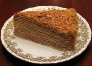 Сметанный торт с орехами-шаг 1