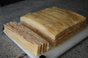 Заварной кокосовый крем для тортов-шаг 1
