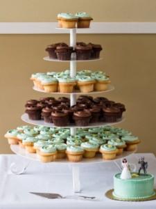 Свадебные торты из капкейков – красиво и просто!-шаг 1