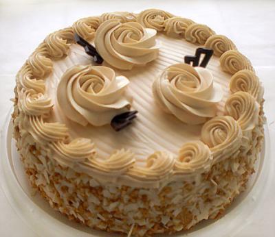 рецепт масляних розочків на торт