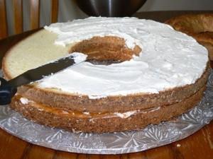Новогодний торт Венок-шаг 11
