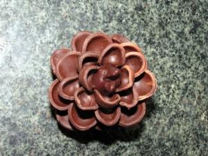 Шоколадные украшения – шишки (второй мастер-класс)-шаг 7