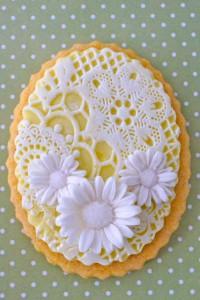 Как украсить мастикой и королевской глазурью (шутарвейл) десерты – мастер-класс-шаг 2