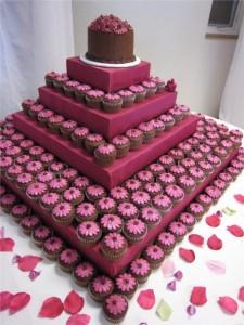 Свадебные торты из капкейков – красиво и просто!-шаг 2