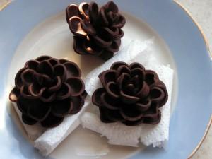 Шоколадные украшения – шишки (второй мастер-класс)-шаг 8