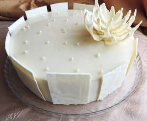 Глазурь из белого шоколада с молоком-шаг 2