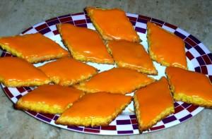 Апельсиновая глазурь для кондитерских изделий-шаг 1