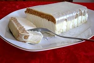 Крем из белого шоколада – заварной-шаг 1