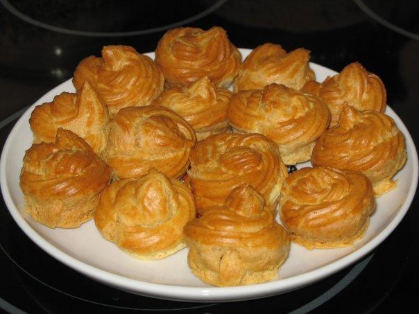 простой рецепт заварных пирожны