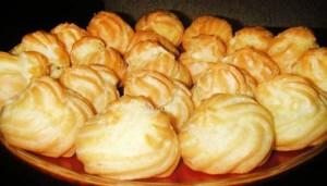 Заварные пирожные – готовятся проще простого!